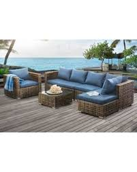 Outdoor Furniture Small Space Get The Deal Sunjoy Kyle Small Spaces Modular 5 Piece Denim