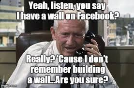 Tracy Meme - tracy is as stumped by facebook technology as douglie is imgflip