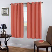 Amazon Thermal Drapes Amazon Com 99 Blackout Curtains Energy Efficient Solid 2 Panels