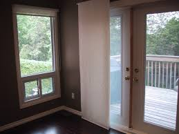 furniture window shades on white wooden patio french door as well