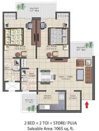 nirala aspire floor plan noida extension