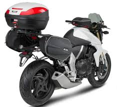 honda cb 1000 givi monokey or monolock top case rear rack for honda cb 1000 r