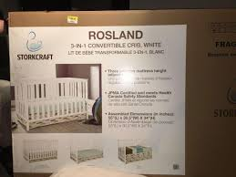 Storkcraft 3 In 1 Convertible Crib by Find More Storkcraft Rosland 3 In 1 Crib For Sale At Up To 90 Off