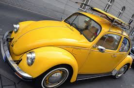 volkswagen yellow car vehicle retro free picture car wheels metallic retro street