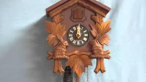 Cuckoo Clock Germany Hubert Herr Triberg W Germany Cuckoo Clock Youtube