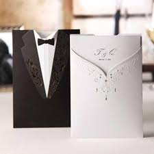 wedding invitations black and white wedding invitations character black and white dress custom wedding