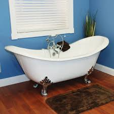 4 Foot Bathtub Restorers 71 Inch Double Slipper Clawfoot Cast Iron Bath Tub Van