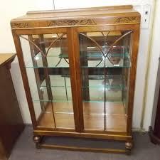 Glass Display Cabinet Perth Art Deco Two Door Display Cabinet Display Cabinets Antique