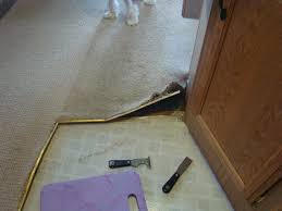 How To Replace Subfloor In Bathroom Our Rv Experience Replacing Old Carpet With Flooring In Our Rv