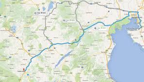 Thessaloniki Greece Map by Enduro Grevena To Grevena