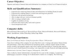 exle resume summary of qualifications resume summary for retail