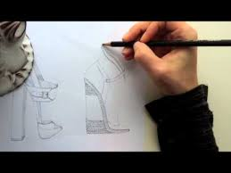sketching shoes tutorial 3 5 espadrille youtube