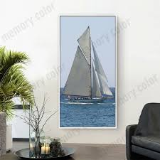 stupendous sailing wall art framed zoom large metal sailboat wall
