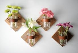 Creative Flower Vases Simple And Elegant Wall Mount Vase