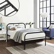 single metal bed frame coavas 3ft single adults solid bedstead