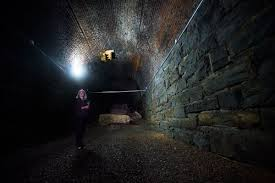 halloween city lynchburg va historic train tunnel to become interactive exhibit local news