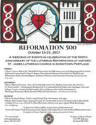 reformation 500 st james lutheran church