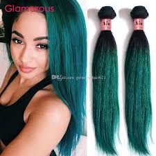 glamorous hair extensions glamorous green ombre hair weaves green human hair extensions