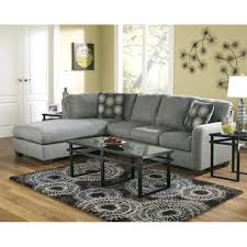 Left Facing Sectional Sofa Chaise Viola Premium Leather Sectional Sofa In Light Grey With