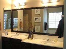 large frameless bathroom mirror large frameless wall mirrors large