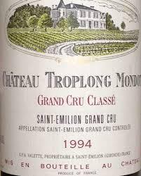 learn about chateau troplong mondot 1994 château troplong mondot bordeaux libournais st