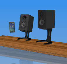 Attractive Computer Speakers Desktop Speaker Stands For Micca Speakers 3 8