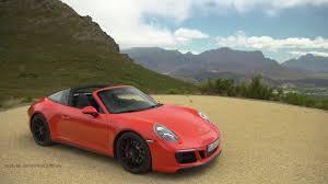 orange porsche 911 2017 porsche 911 targa 4 gts lava orange awesome exhaust sound 450