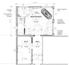 large master bathroom floor plans cool bathroom blueprints for 8 10 space pictures inspiration