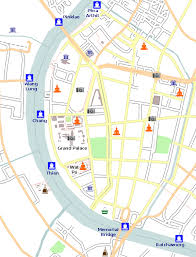 bangkok map tourist attractions bangkok by boat bangkok for visitors