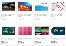 updated ebay save on gift cards for best buy exxon gamestop