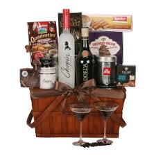 martini gift basket mel espresso martini gift baskets los angeles