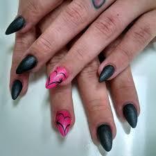 black and pink nail designs design trends 1080x1080 jpeg black