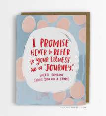 card for sick person empathy cards a wonderful line of plain spoken notes that help to