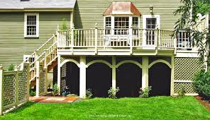 cantilevered deck what is a cantilever and why would your deck want one suburban