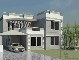 map of house 18 marla house elevation indian modern pinterest