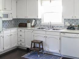 white washed maple kitchen cabinets painting oak cabinets white an amazing transformation