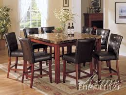 8 Chair Dining Table Set Marble Top Dining Table With 8 Chairs Interior Designing 12294