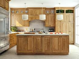 small hickory kitchen cabinets fascinating hickory kitchen