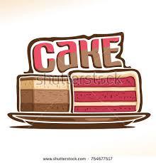 vector logo fruit cupcake original font stock vector 725788018