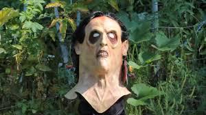 evil dead ii evil ash bruce campbell halloween mask youtube