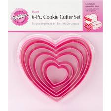 wilton nesting cutter set cookie cutters