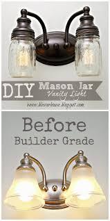 trash to treasure how to paint a bathroom light fixture lights
