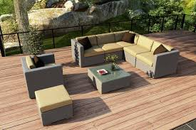 Yellow Patio Chairs by 25 Awesome Modern Brown All Weather Outdoor Patio Sectionals