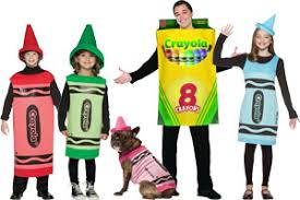 Crayon Halloween Costume Group Costume Ideas Halloween 2017