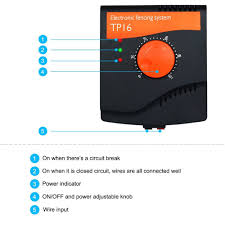 electronic dog fence system pet wireless fence tp16 dog shock