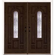 Double Front Entrance Doors by Double Door Front Doors Exterior Doors The Home Depot