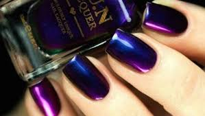 15 purple nail polish designs for a very fashionable winter style