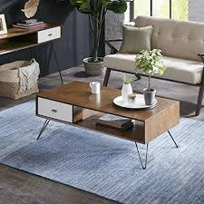 ink ivy blaze brown triangle wood side table midcentury modern coffee tables midcentury modern apartment