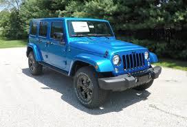 blue jeep 2015 jeep wrangler unlimited altitude blue jeep dealer
