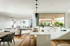 stylish galley kitchen with caesarstone benchtops and huge walk in